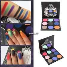 New Makeup Cosmetic 9 Colors Eye Shadow Shimmer Matte Eyeshadow Palette Portable