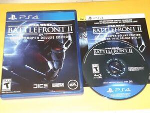 Star Wars Battlefront 2 II Elite Trooper Deluxe Edition (Sony Playstation 4 PS4)