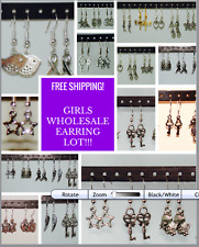 / Hypo Allergenic / Girls / Quality Wholesale Lot Of Dangle Earrings / 20 Pairs