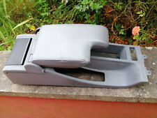 bmw e46 320d touring genuine bmw grey leather armrest and centre console