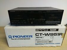 VINTAGE Pioneer CT-W951R Stereo Double Dual Cassette Tape Deck Dolby HX Pro Rare