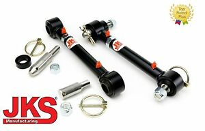"""1976-1995 Jeep CJ8 Scrambler JKS Front Sway Bar Links Disconnects for 0-6"""" lifts"""