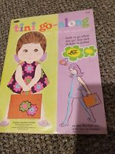 Vintage Whitman 1969 Tini Go-Along Paper Dolls in Flip-Fold Tote