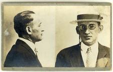 Photo Bertillon identification Policière Police Mug Shot Usa Philadelphia 1924