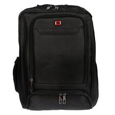 a64e641f60bb1 Herren Damen Rucksack 15 Zoll Laptop Fach Schwarz Business Reisen Urlaub  Tasche