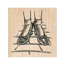 NEW Ruby Red Slippers RUBBER STAMP, Wizard Of Oz Stamp, Dorothy Rubber Stamp