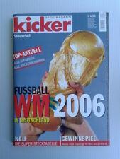 Kicker Sportmagazin Fussball-WM Sonderheft 2006 Deutschland TOPP!