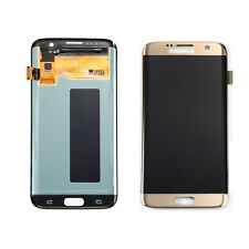 Lcd Display Touch Screen Digitizer Glass For Samsung S7 Edge G935F - Gold