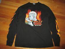 "2002 Billy Idol ""Kiss The Skull"" Tour Concert (Med) Long Sleeve Shirt"