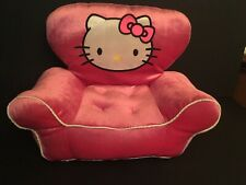 "Build a Bear Workshop Hello Kitty Chair/Couch Fits 18"" Doll American Girl"