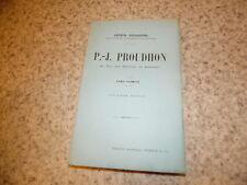 1896.Pierre Joseph Proudhon.T1.Desjardins