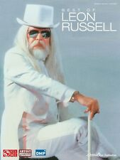 Best of Leon Russell Sheet Music Piano Vocal Guitar SongBook NEW 002500982
