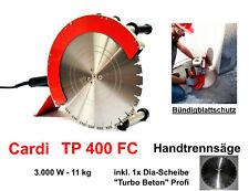 Diamant-Handtrennsäge CARDI TP 400 FC Bündigschnitt Fugensäge Wandsäge Naß