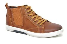 KICKERS Chaussures baskets cuir SNEAZ CAMEL marron homme 591510 60 92 taille 40