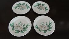 Royal China USA Dogwood Pattern Bread Plates x 4