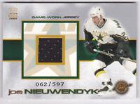 2000-01 Crown Royale Game-Worn Jerseys #12 Joe Nieuwendyk Jersey 62/597