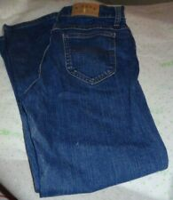 $52x Riders womens heavy denim jeans SIZE 6P straight medium stress wash 30/28