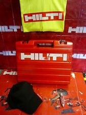 HILTI TE 5 HAMMER DRILL (CASE ONLY), IN GOOD CONDITION, FREE EXTRAS, FAST SHIP