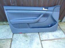 Genuine VW Golf MK5 Passengers Side LEATHER Door Card Trim 1K3867011 LEFT