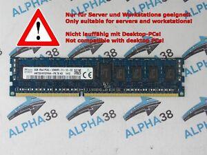 Skhynix 4 GB DDR3-1600 PC3L-12800R HMT351R7EFR4A-PB CL11 1,35V Server RAM