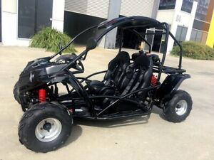 125CC Buggy ATV Sport Quad Dirt Bike 4 WheeL kart Semi Auto 3+1 SAHARA Dune BLK