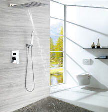 SUS Concealed Shower System Bathroom Luxury Rain Mixer Shower Head Combo Set