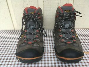Keen Durand Mid Waterproof Men's Hiking boots Size US 9.5. American Built.
