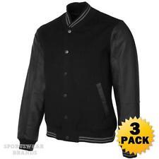Leather Baseball Coats & Jackets for Men