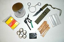 Complete 2-Hour Buddy Burner Emergency Heat & Fire Outdoor Survival Bug Out Kit
