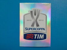 Figurine Calciatori Panini 2012-13 2013 n.  7 Logo Supercoppa TIM