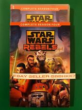 Star Wars Rebels Season 4 Four fouth DVD & Slipcover {AUTHENTIC READ} New FreeSh