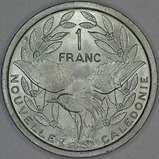 New Caledonia 1 Franc 1977 Brilliant Uncirculated