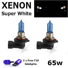HB3 65w SUPER WHITE XENON (9005) Upgrade Main Beam Head Light Bulbs 12v I