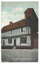 Suffolk; Old Bell Inn, Woodbridge PPC Bristol PMK to Mr Robbins of Nottingham