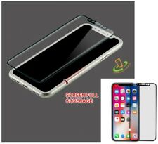 Tempered Glass Screen Protector FULL COVERAGE Curved Guard For Appel iPhone X 10