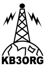 Personalized Amateur Ham Radio Antenna Decal
