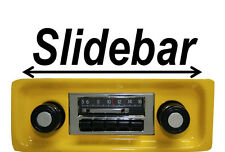 NEW Custom Autosound Slidebar Radio Stereo for 1967-1972 Chevy Truck