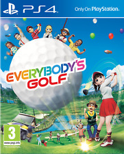 EVERYBODY'S GOLF - PS4   -  NUOVO SIGILLATO E ITALIANO