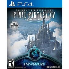 Final Fantasy Xiv Online The Complete Experience (Playstation 4) Brand New