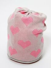 CATYA Sommermütze Herzen in beige-rosa*100% Baumwolle  NEU