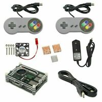 Retro Game Accessories with 2 Gamepads Set for Raspberry Pi 3/ 3B+ (B Plus) NEW