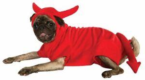 Big Dog Devil Dawg Hoodie XXL Rubies Pet Shop Dog Costume 2X
