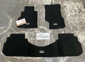 Brand New OEM 2006-2010 Infiniti M35 M45 Carpet Floor Mats Black 999E2-QS001BK