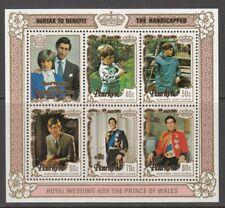 1981 Penrhyn International Year of Disabled mint minisheet.
