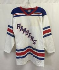 Vintage New York Rangers Authentic Loco Sportswear Jersey Medium White