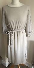 H&M Nude Dress Size 12 (eur 38)