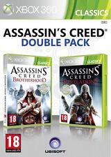 Assassins Creed Brotherhood & Revelations Double Pack Xbox 360 Spiel *deutsch*