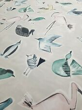 Scion Menagerie Blush/Mint Curtain Craft Fabric 3.7 Metre 100% Cotton