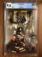 Marvel X-Men Extermination #2 Unknown Comics Virgin Variant Brooks Cover CGC 9.6