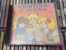 CD L'AMORE E' MAGIA, CRISTINA D'AVENA, RTI DEL 1997, NUOVO - SIGILLATO.-